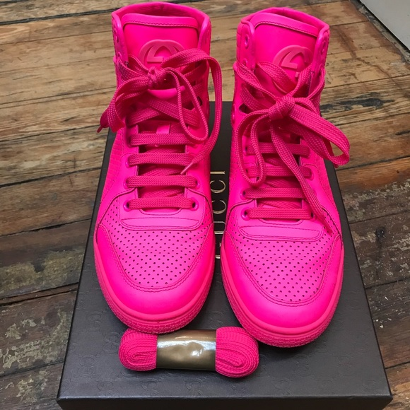 Gucci Shoes   Authentic Neon Pink Gucci